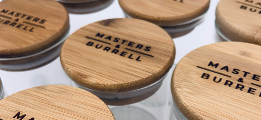 Masters & Burrell Bamboo Lids